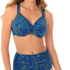 Miraclesuit MULTI Basilisk Plunge Underwire Bikini
